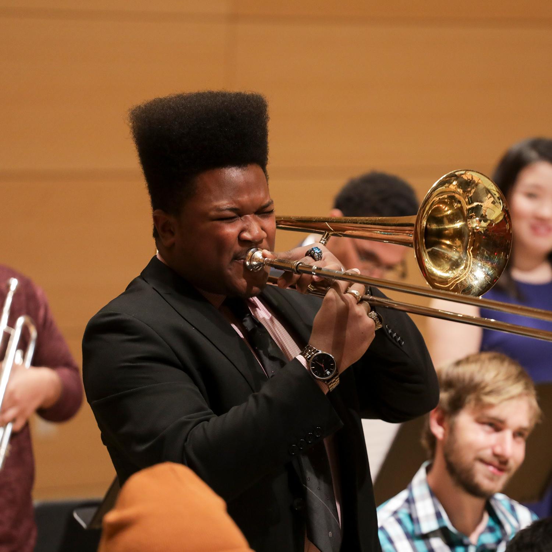 Trombonist Studio Orchestra
