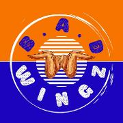 This is the restaurant logo for BAD WINGZ