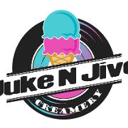 This is the restaurant logo for Juke N Jive Creamery