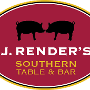 Restaurant logo for J. Render's Southern Table & Bar