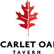 This is the restaurant logo for Scarlet Oak Tavern