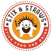 This is the restaurant logo for Stix and Straws