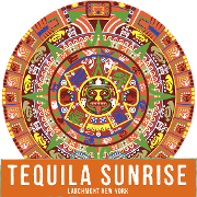This is the restaurant logo for Tequila Sunrise - Larchmont