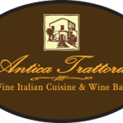 This is the restaurant logo for Antica Trattoria