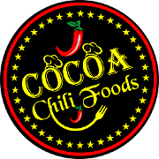This is the restaurant logo for Cocoa Chili Restaurant & Catering
