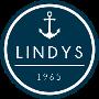 Restaurant logo for Lindy's Restaurant, Banquets, Beach Club & Marina
