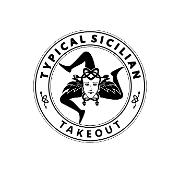 This is the restaurant logo for Typical Sicilian Takeout