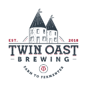This is the restaurant logo for Twin Oast Brewing