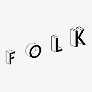 This is the restaurant logo for Folk