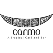 This is the restaurant logo for Carmo Restaurant & Bar