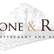 This is the restaurant logo for Stone & Rail