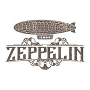 This is the restaurant logo for Zeppelin