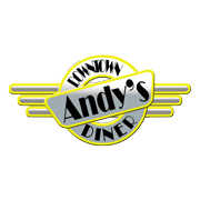 This is the restaurant logo for Andy's Downtown Diner