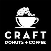 This is the restaurant logo for CRAFT Donuts + Coffee