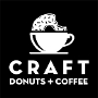 Restaurant logo for CRAFT Donuts + Coffee