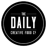 This is the restaurant logo for The Daily Creative Food Co.