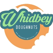 This is the restaurant logo for Whidbey Doughnuts