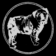 This is the restaurant logo for THE FAT DOG