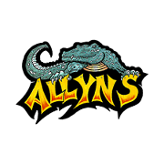 This is the restaurant logo for Allyn's Cafe