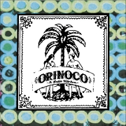 This is the restaurant logo for Orinoco: A Latin Kitchen