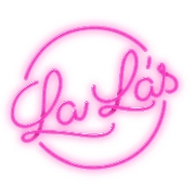 This is the restaurant logo for Lala's Pop Up