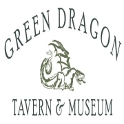 This is the restaurant logo for Green Dragon Tavern & Museum