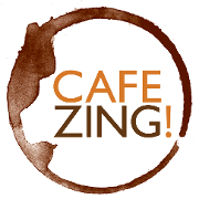 This is the restaurant logo for Cafe Zing!