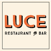 This is the restaurant logo for Luce