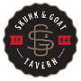 Restaurant logo for The Skunk and Goat Tavern