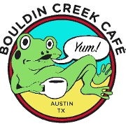This is the restaurant logo for Bouldin Creek Cafe