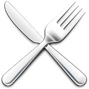 This is the restaurant logo for Precita Park Cafe