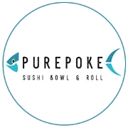 This is the restaurant logo for PurePoke
