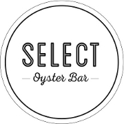 This is the restaurant logo for Select Oyster Bar