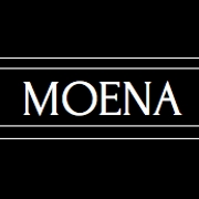This is the restaurant logo for Moena Restaurant