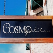 This is the restaurant logo for Cosmopolitan Restaurant