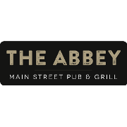 This is the restaurant logo for The Abbey