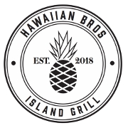 This is the restaurant logo for Hawaiian Bros.