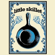 This is the restaurant logo for Little Skillet