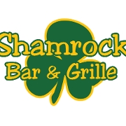 This is the restaurant logo for Shamrock Bar & Grille