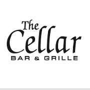 This is the restaurant logo for The Cellar Bar & Grille