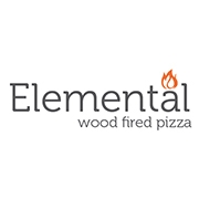 This is the restaurant logo for Elemental Pizza