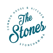 This is the restaurant logo for The Stones Common House and Kitchen
