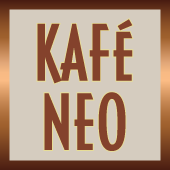 This is the restaurant logo for Kafé Neo Kingston