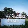 This is the restaurant logo for Rosewood