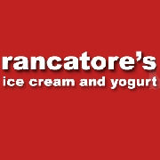 This is the restaurant logo for Rancatore's Ice Cream & Yogurt
