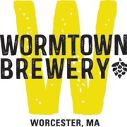 This is the restaurant logo for Wormtown Brewery