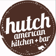 This is the restaurant logo for Hutch American Kitchen + Bar