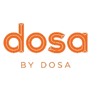 This is the restaurant logo for dosa by DOSA