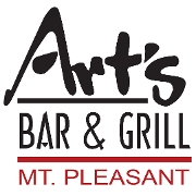 This is the restaurant logo for Art's Bar and Grill