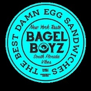 This is the restaurant logo for Bagel Boyz